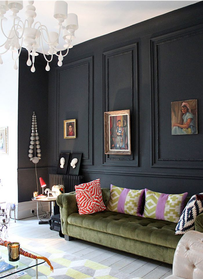 4 of the Most Important Things You Need to Remember When Painting a Wall Black